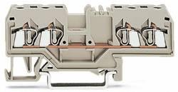 Gennemgangsklemme 5 mm Trækfjeder Belægning: L Grå WAGO 280-999 100 stk