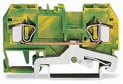 Jordklemme 6 mm Trækfjeder Belægning: Terre Grøn-gul WAGO 281-907/999-950 50 stk
