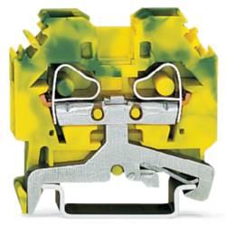 Jordklemme 8 mm Trækfjeder Belægning: Terre Grøn-gul WAGO 282-107 50 stk