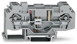 Skilleklemme 16 mm Trækfjeder Belægning: L Grå WAGO 282-138 12 stk