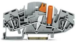 Skilleklemme 8 mm Trækfjeder Belægning: L Grå WAGO 282-811 20 stk