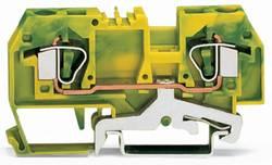 Jordklemme 8 mm Trækfjeder Belægning: Terre Grøn-gul WAGO 282-907 50 stk