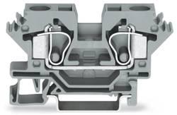 Gennemgangsklemme 10 mm Trækfjeder Belægning: N Blå WAGO 284-604 25 stk
