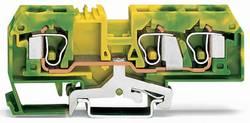 Jordklemme 10 mm Trækfjeder Belægning: Terre Grøn-gul WAGO 284-687 25 stk