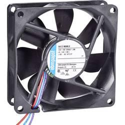 Aksial ventilator 12 V/DC 45 m³/h (L x B x H) 80 x 80 x 25 mm EBM Papst 8412 NGMLV