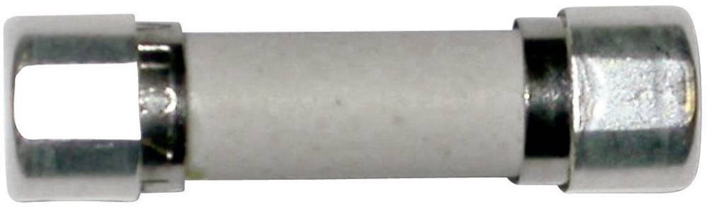 Finsikring (Ø x L) 5 mm x 20 mm 10 A 250 V Træg -T- ESKA 8522727 Indhold 1 stk
