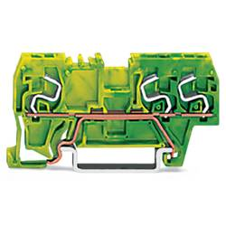 Jordklemme 5 mm Trækfjeder Belægning: Terre Grøn-gul WAGO 290-667 100 stk