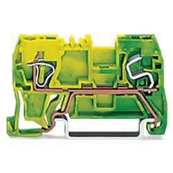 Jordklemme 5 mm Trækfjeder Belægning: Terre Grøn-gul WAGO 290-907 100 stk