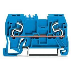 Gennemgangsklemme 5 mm Trækfjeder Belægning: N Blå WAGO 290-964 100 stk