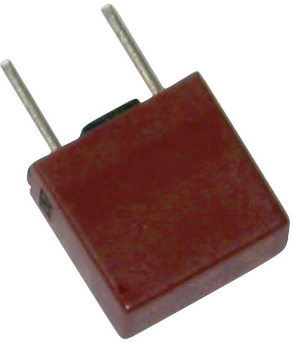 Mikrosikring ESKA 883125 6.3 A 250 V kantet Træg -T- med radial tråd 500 stk