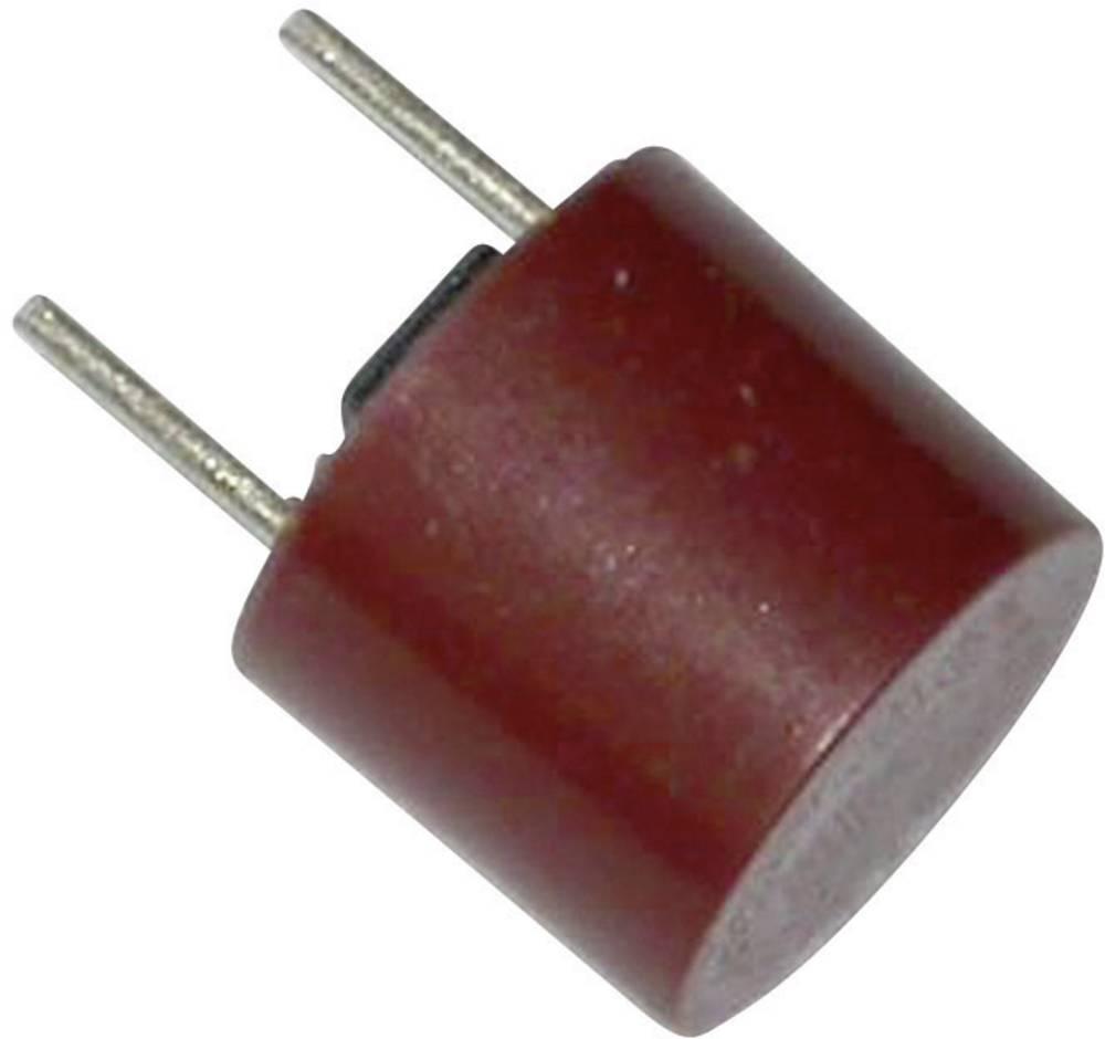 ESKA miniaturna varovalka , radialna, osvinčena, okrogla 1.25 A 250 V počasna -T- ESKA 887118 500 kosov