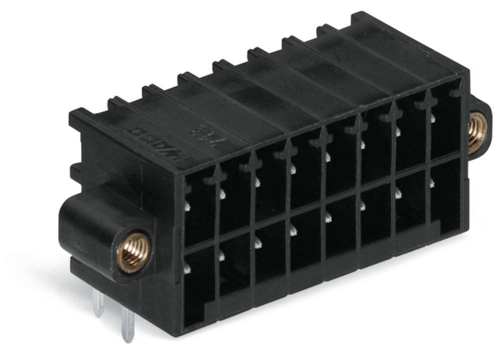 Pinski konektor (standarden) WAGO 713-1426/107-000, mere: 3.50 mm 25 kosov