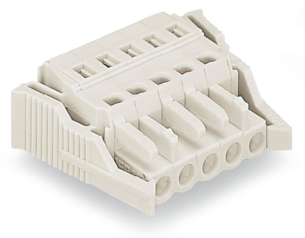 Tilslutningskabinet-kabel 721 Samlet antal poler 10 WAGO 721-110/037-000 Rastermål: 5 mm 25 stk