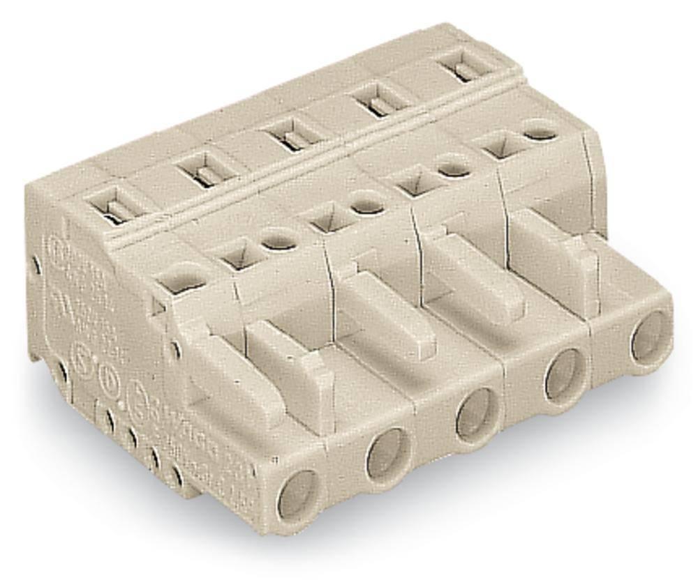 Tilslutningskabinet-kabel 721 Samlet antal poler 9 WAGO 721-209/008-000 Rastermål: 7.50 mm 25 stk