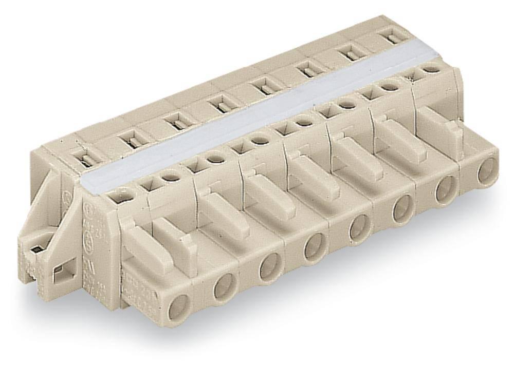 Tilslutningskabinet-kabel 721 Samlet antal poler 12 WAGO 721-212/027-000 Rastermål: 7.50 mm 10 stk