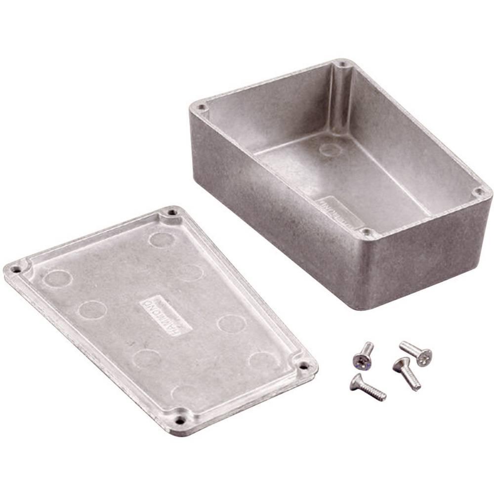 Universalkabinet 112 x 78.96 x 39.2 Aluminium Sort Hammond Electronics 1590TRPBBK 1 stk
