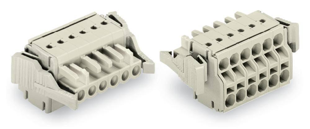 Tilslutningskabinet-kabel 721 Samlet antal poler 2 WAGO 721-2102/037-000 Rastermål: 5 mm 100 stk