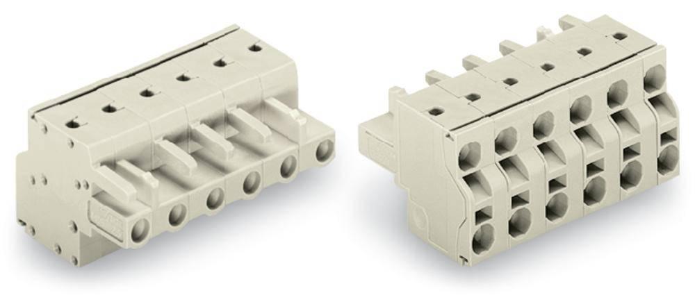 Tilslutningskabinet-kabel 721 Samlet antal poler 5 WAGO 721-2205/026-000 Rastermål: 7.50 mm 50 stk