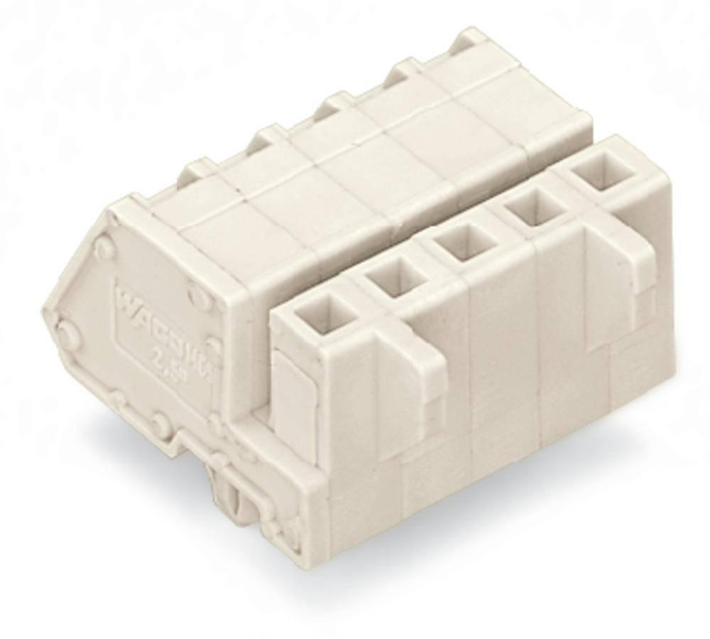Tilslutningskabinet-kabel 721 Samlet antal poler 8 WAGO 721-308/008-000 Rastermål: 5 mm 50 stk