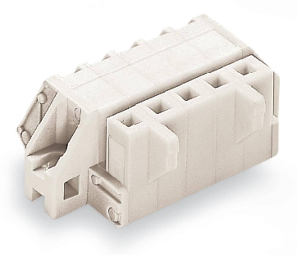 Tilslutningskabinet-kabel 721 Samlet antal poler 4 WAGO 721-304/031-000 Rastermål: 5 mm 50 stk