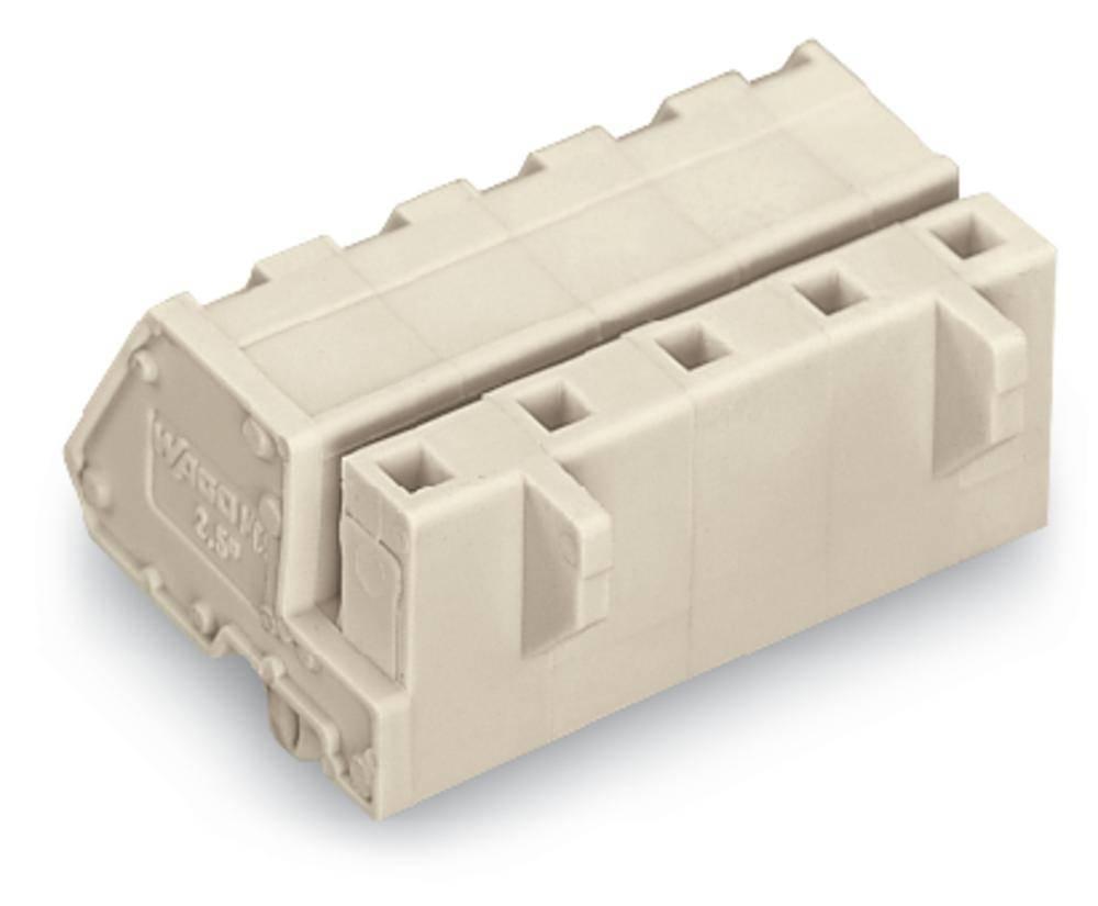 Tilslutningskabinet-kabel 721 Samlet antal poler 6 WAGO 721-336/008-000 Rastermål: 7.50 mm 50 stk