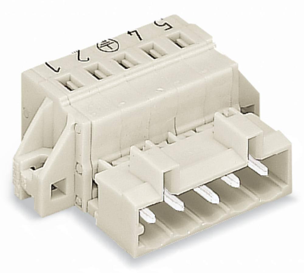 Stiftliste (standard) 2060 Samlet antal poler 6 WAGO 721-606/019-000 Rastermål: 5 mm 50 stk
