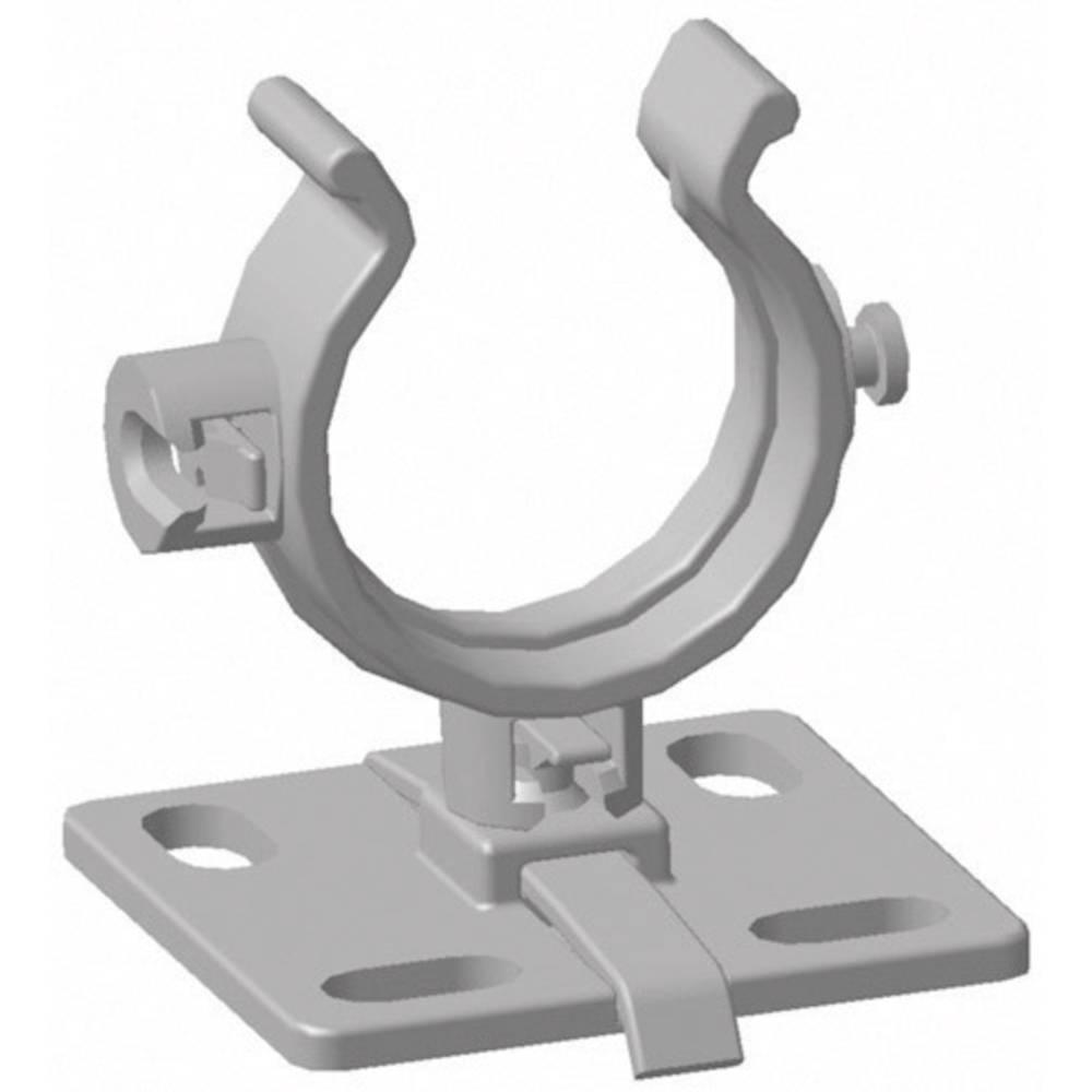 Pritrdilna plošča HWBASEA-HIRHS-BK-50S HellermannTyton vsebuje: 1 kos