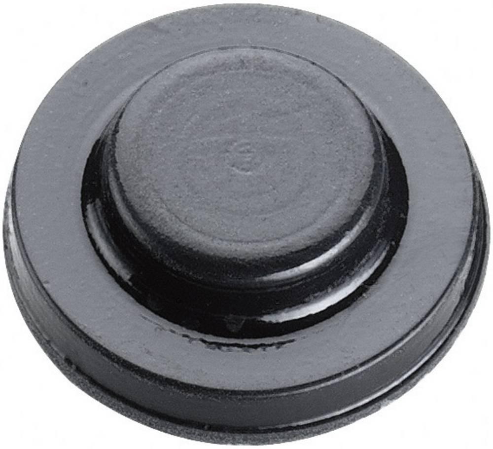 Chassisfod 3M SJ6115 Selvklæbende, Rund Sort (Ø x H) 15.9 mm x 4.75 mm 1 stk