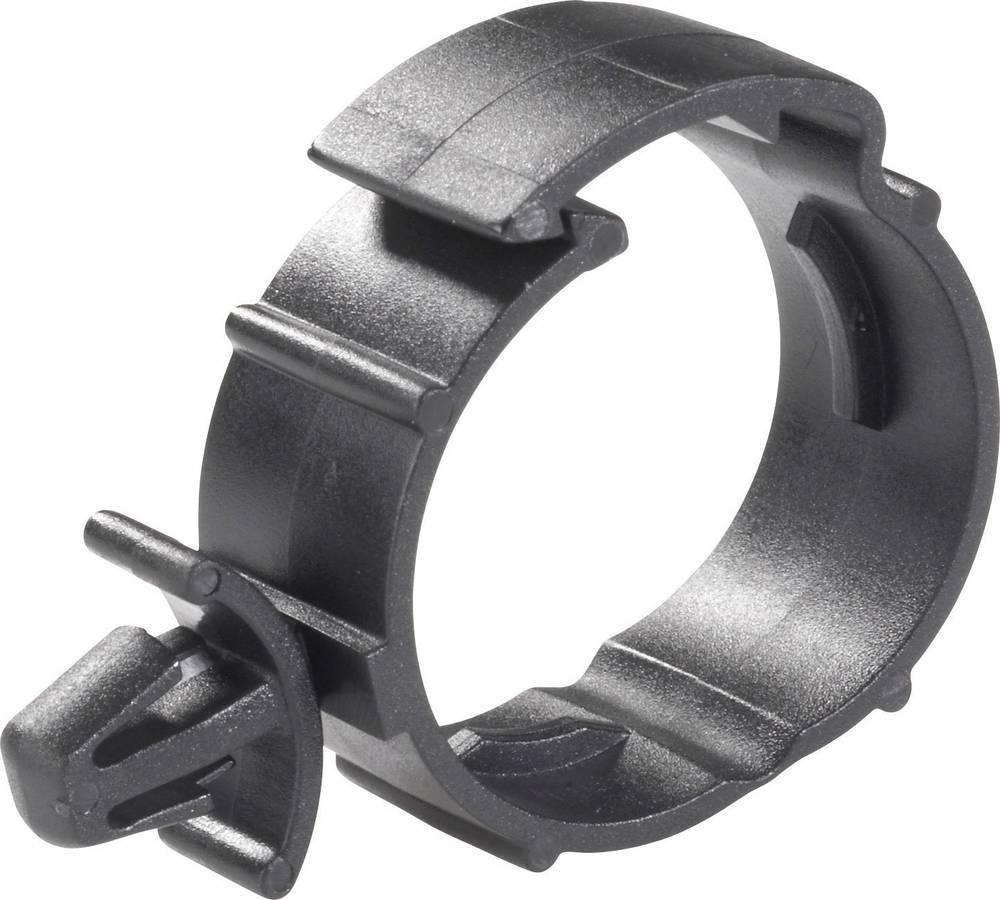 Richco SHR-C1-Montažna obujmica, promjer snopa: 29mm, crna, 1 komad