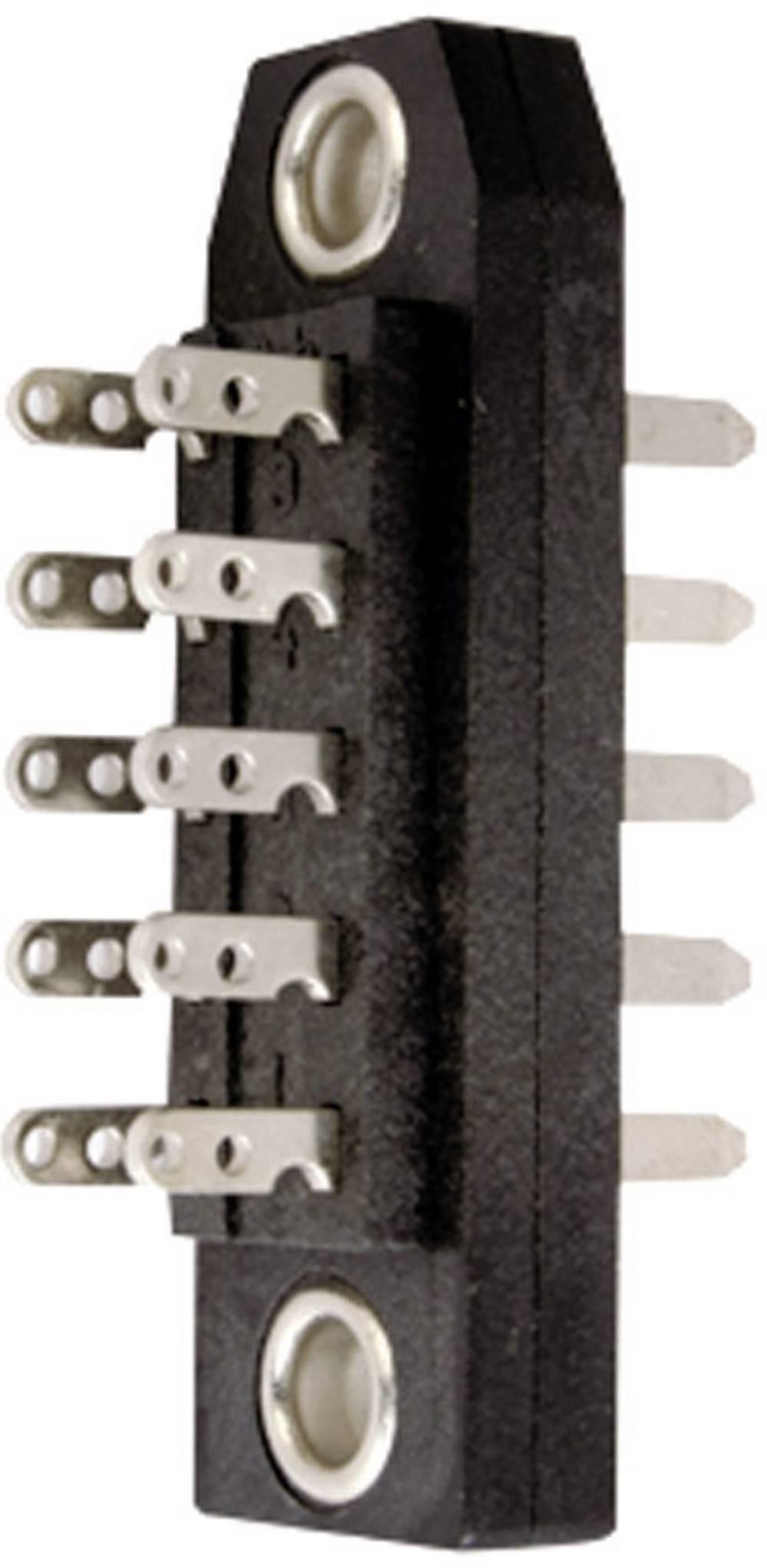 Hankonnektor J00046A0908 Samlet poltal 39 Antal rækker 3 Telegärtner 1 stk