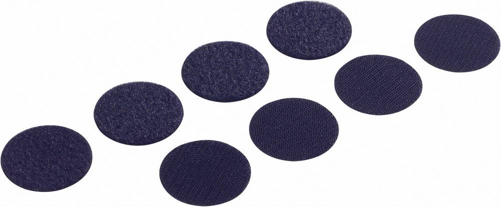 Sampljepljivi krugovi s čičkom FAST-COINS PS14 Fastech prianjajući i mekani dio Fastech () 19 mm bijela 8 setova bijela 19MM 4 p