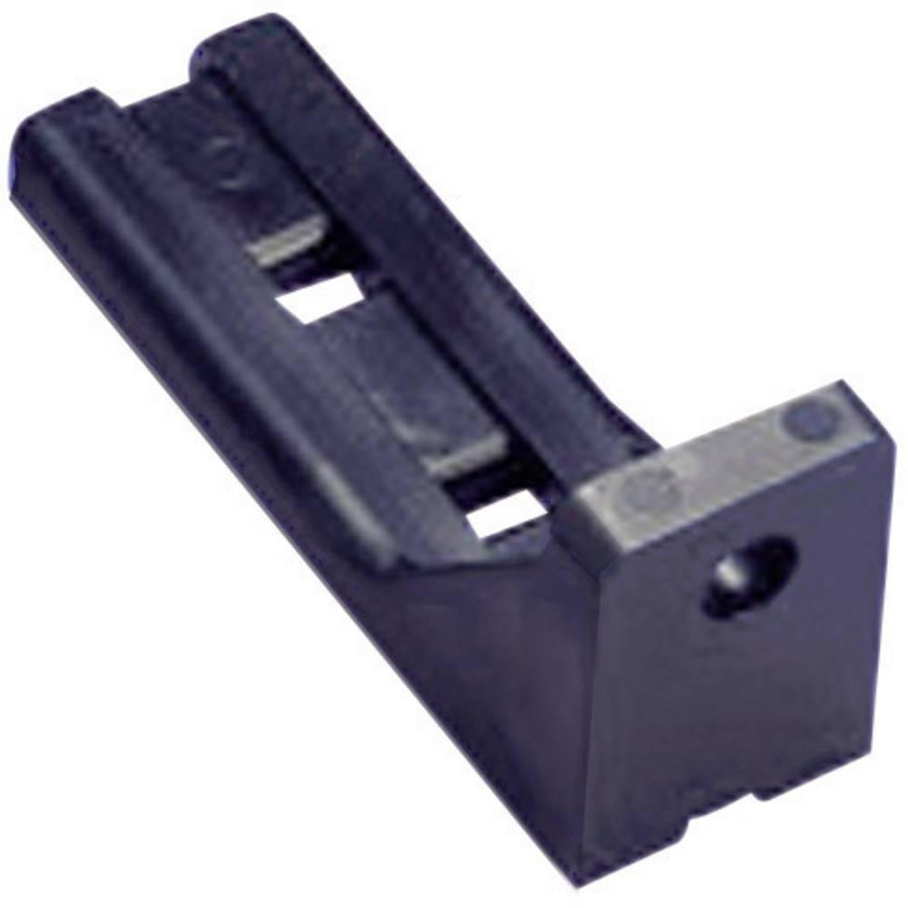 Držalo za kable namestitev s privijanjem črne barve KSS LCHR60BK 1 kos