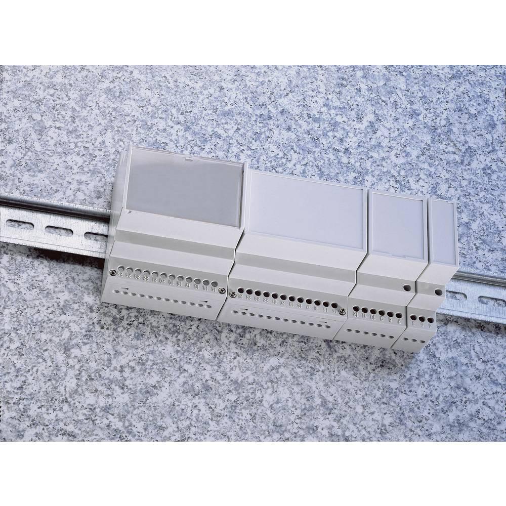 DIN-skinnekabinet Weltron MR4/C FA RAL7035 ABS 70 x 90 x 68 ABS Lysegrå (RAL 7035) 1 stk