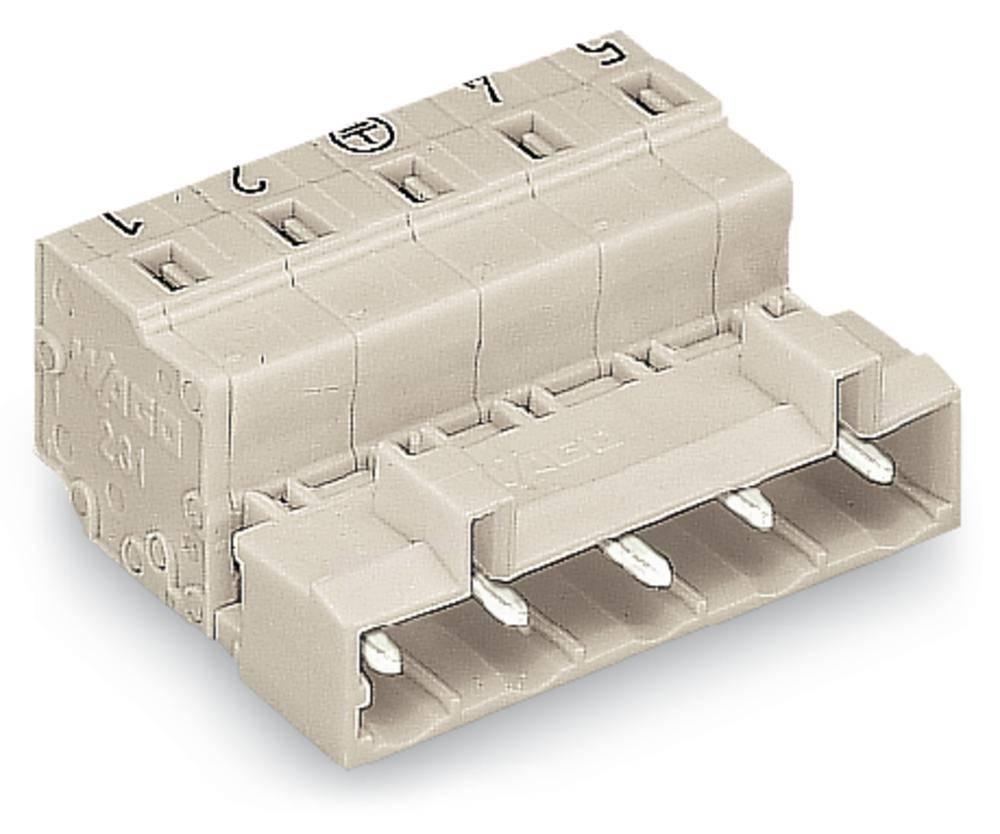 Pinski konektor (standarden) WAGO 723-606, mere: 7.50 mm 50 kosov