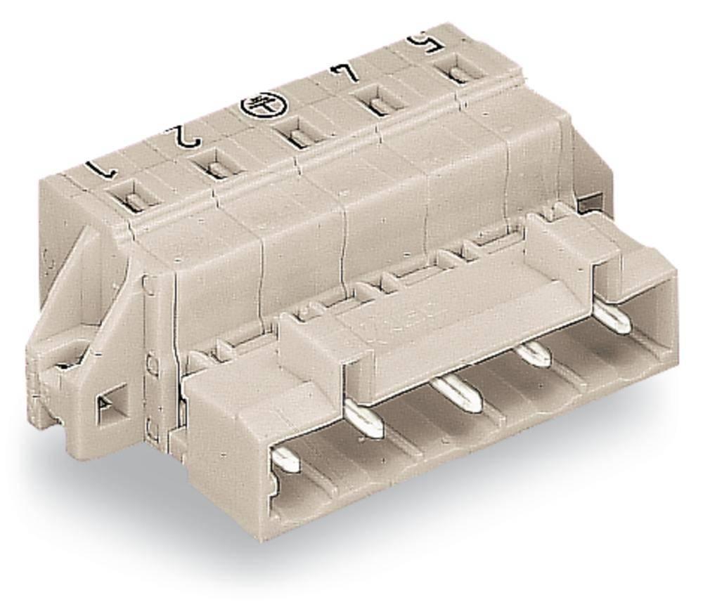 Stiftliste (standard) 2080 Samlet antal poler 3 WAGO 723-603/019-000 Rastermål: 7.50 mm 50 stk