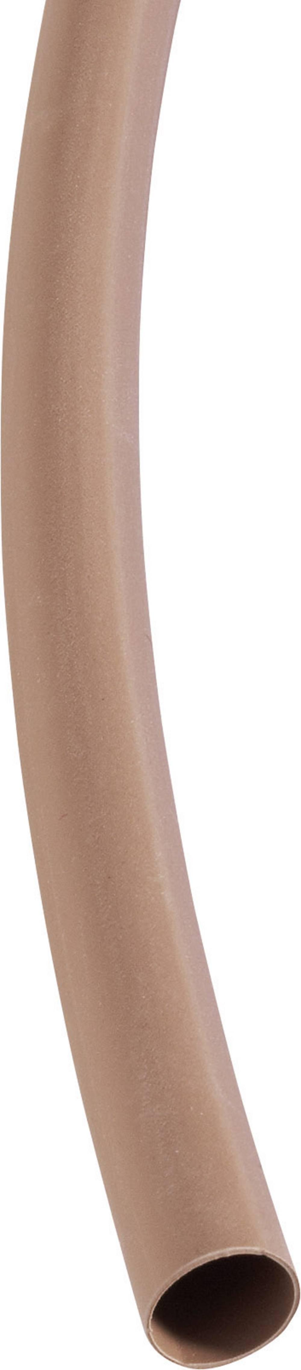 Tankostenska skrčljiva cev Deray-H pred/po krčenju: 1.6 mm/0.8 mm razmerje 2 : 1 rumena