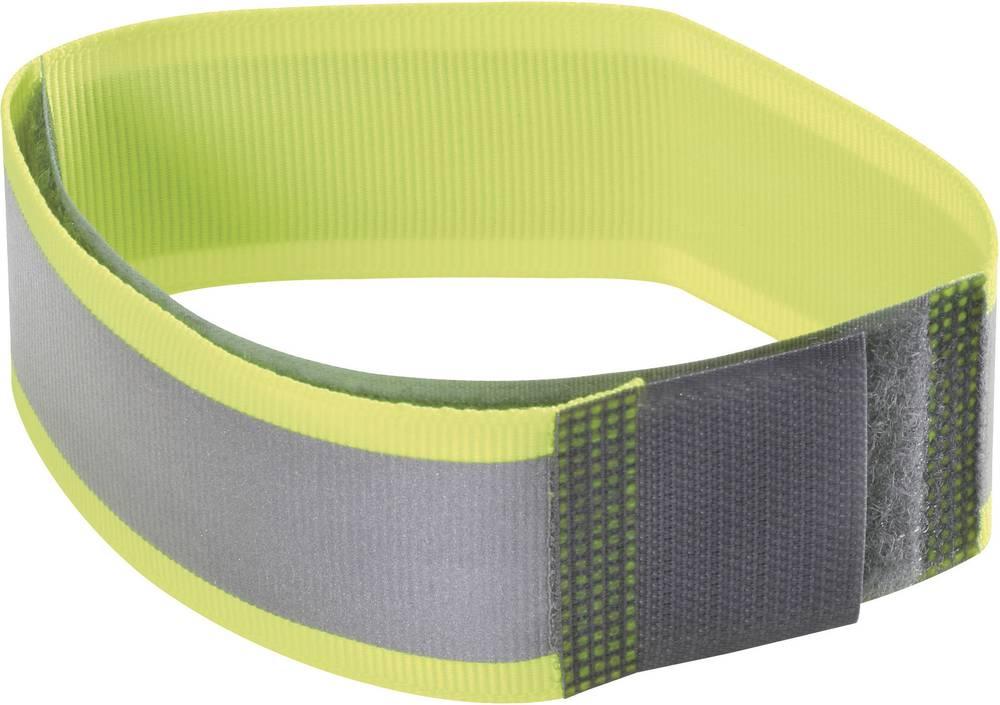 Reflektirajuća traka s čičkom na šivanje Fastech prianjajući i mekani dio (D x Š) 430 mm x 38 mm neonski žuta 430MM dugačka