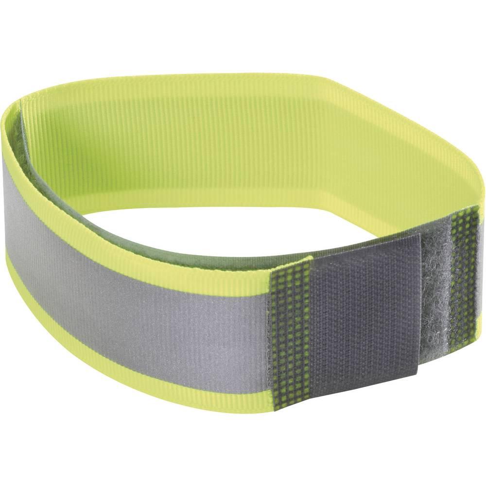 Reflektirajuća traka s čičkom na šivanje Fastech prianjajući i mekani dio (D x Š) 430 mm x 25 mm neonski žuta 430MM dugačka