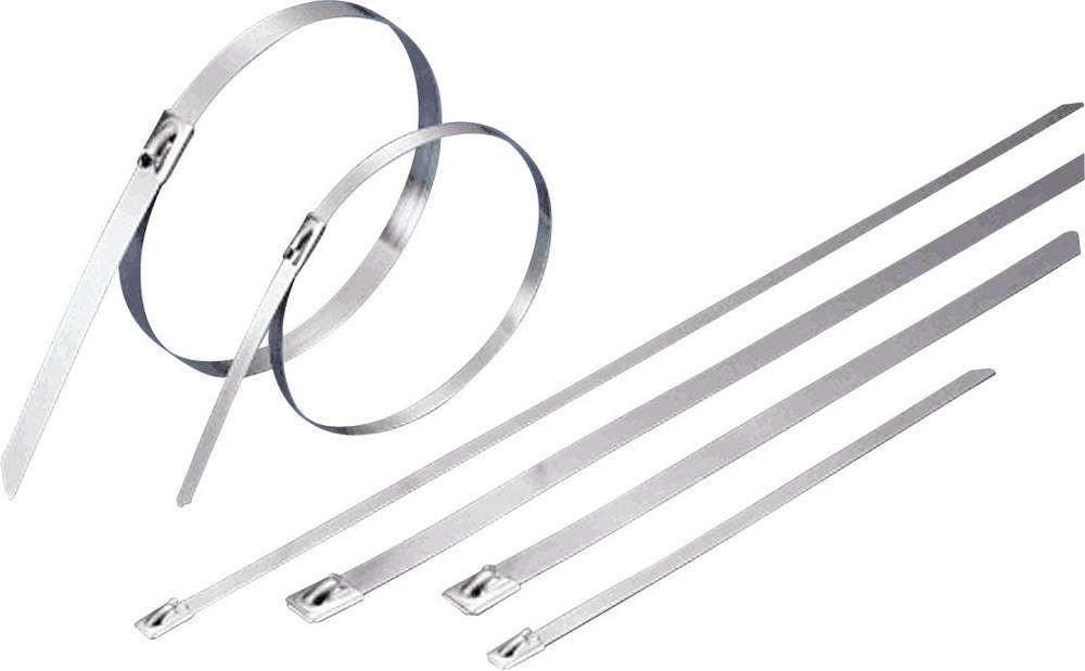 Kabelske vezice 679 mm srebrne barve KSS BCT-679 1 kos