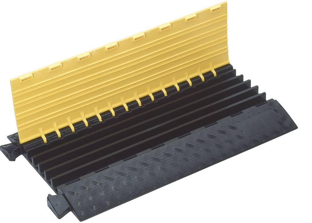 Talna zaščita za kable DEFENDER® MIDI (D x Š x V) 890 x 542 x 52 mm črna, rumena Adam Hall vsebina: 1 kos