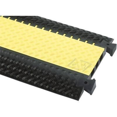 Adam Hall Cable bridge Polyurethane Black, Yellow No. of channels: 3 1000 mm Content: 1 pc(s)