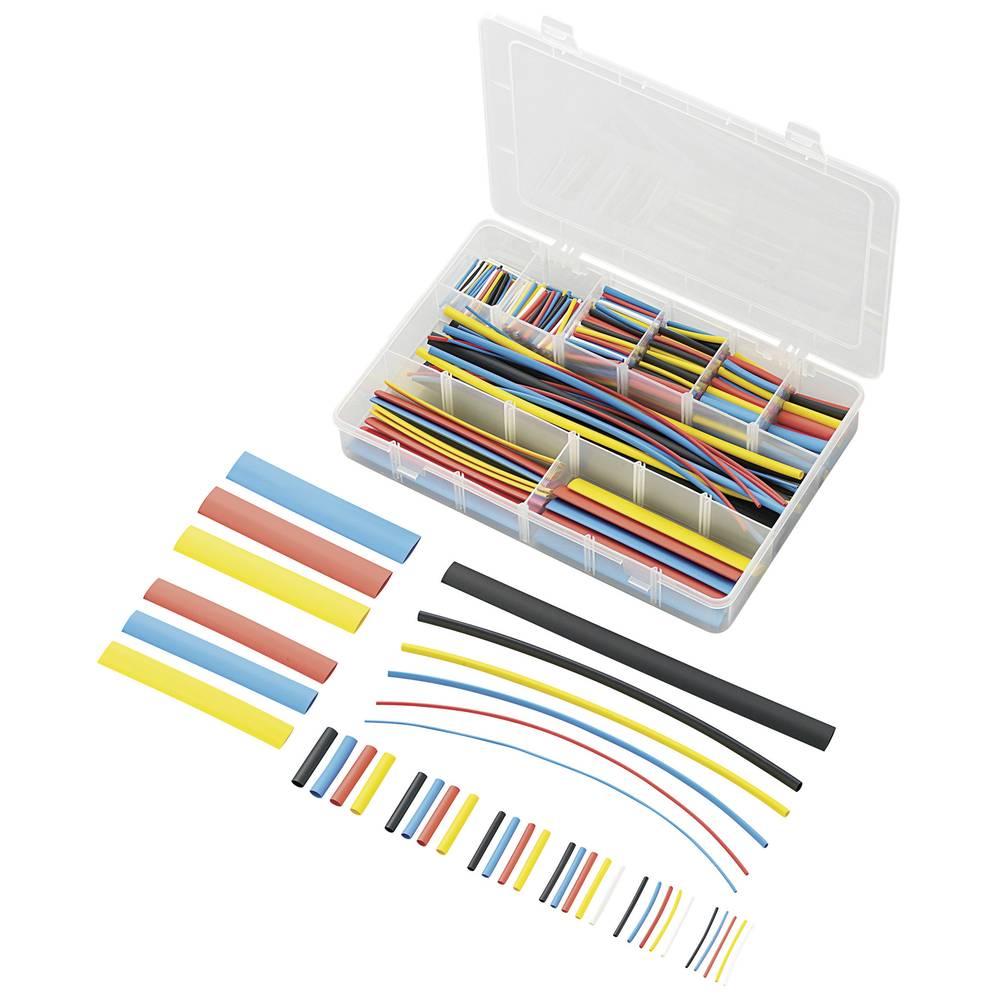 564-delni set barvnih skrčljivih cevi, 2 : 1, Conrad SUHT564-K18