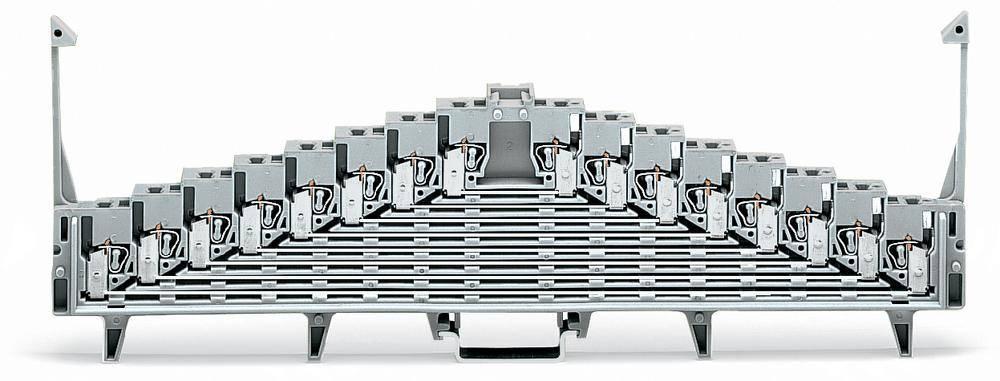 Tilslutningsklemme 7.62 mm Trækfjeder Hvid WAGO 727-131/004-000 25 stk