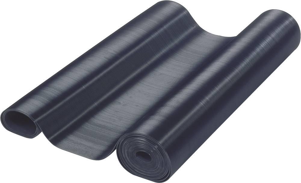 Fina rebrasta prevleka (D x Š x V) 10000 x 700 x 3 mm črne barve Adam Hall vsebuje: 1 kos