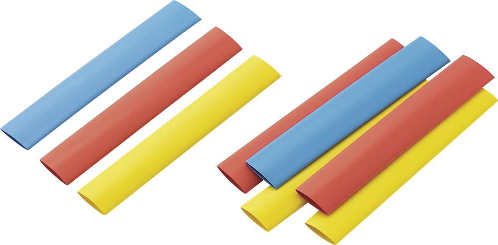 Dodatne barvne skrčljive ceviza polnjenje kompleta (kat. št.54 23 51) 2 : 1, 125 mm, 9 ko RPS9 Conrad