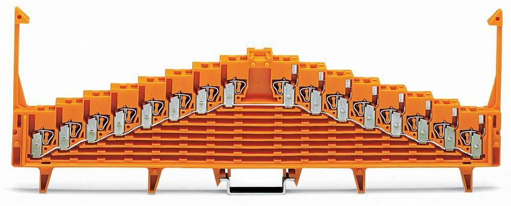 Potentialklemme 7.62 mm Trækfjeder Orange WAGO 727-126/001-000 25 stk