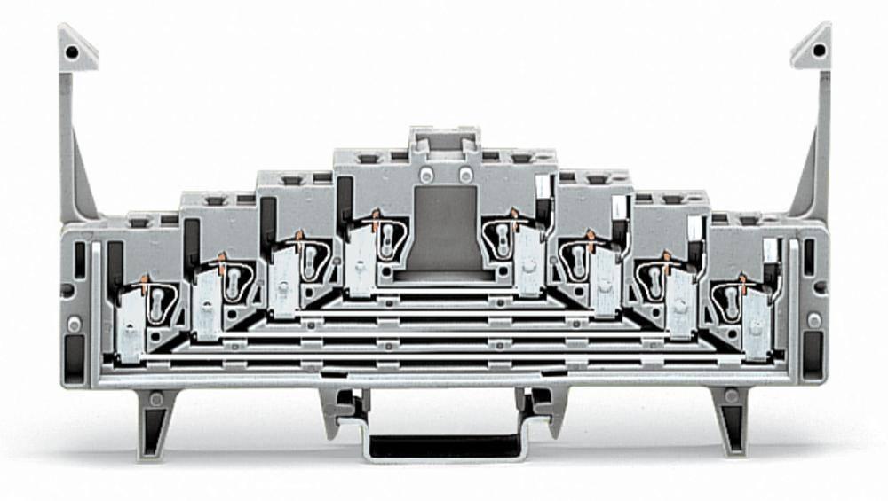 Tilslutningsklemme 7.62 mm Trækfjeder Hvid WAGO 727-231/021-000 50 stk
