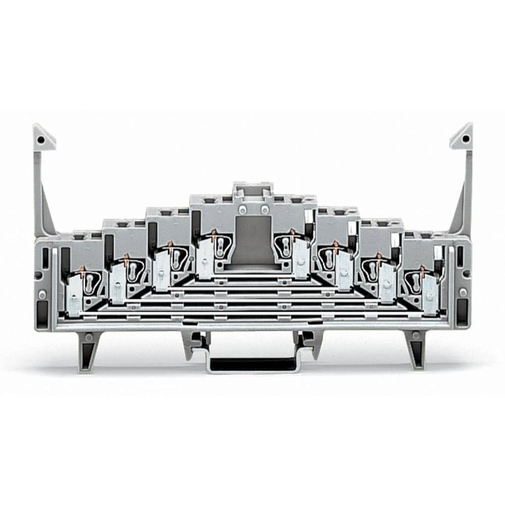 Tilslutningsklemme 7.62 mm Trækfjeder Hvid WAGO 727-231 50 stk