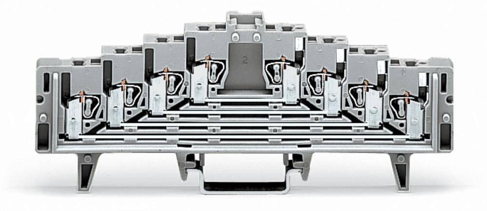 Tilslutningsklemme 7.62 mm Trækfjeder Hvid WAGO 727-232/024-000 50 stk
