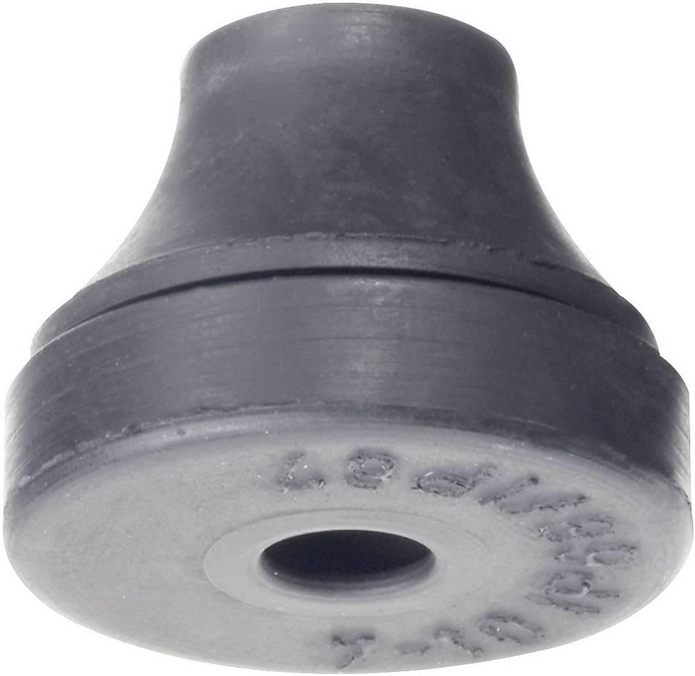 Kabelska uvodnica, promjer sponke (maks.) 10 mm kloropren-kaučuk crne boje PB Fastener 1102-CR-SW 1 kom
